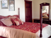 Hill country bed and breakfast room offering 125 dollar specials
